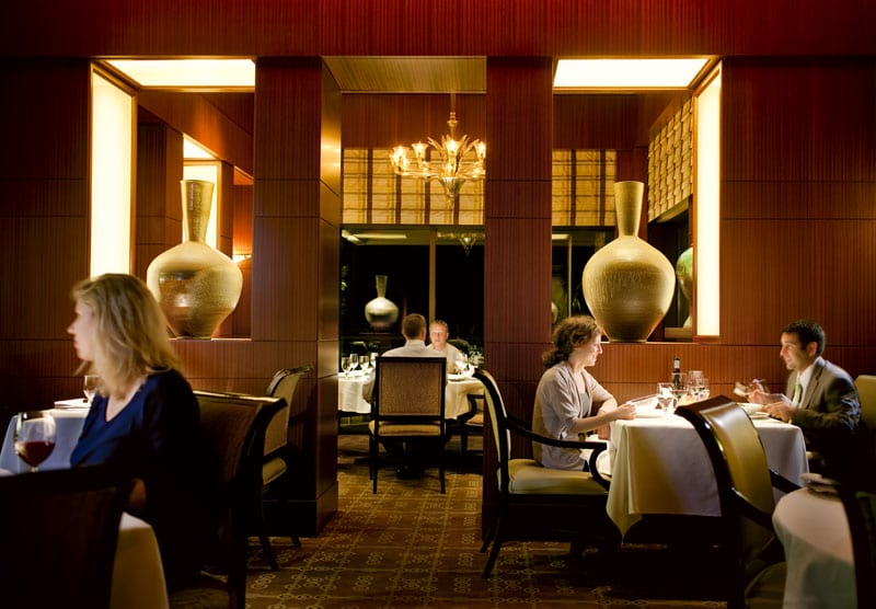Don't miss The Umstead's five-star on-site restaurant, Herons.