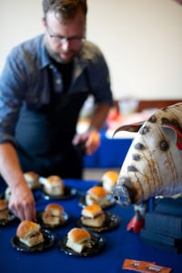 Smokebelly BBQ debuted at last year's event as a new restaurant, dishing up savory sliders.