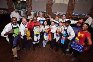 Members of the American Culinary Federation's Greater Atlanta Chapter join forces to Cheer for Children. Photo: Courtesy of Georgia Center for Child Advocacy