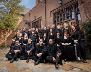 Coro Vocati singers are led by John Dickson and will perform at the Peachtree Road United Methodist Church. Photo: Courtesy of Coro Vocati