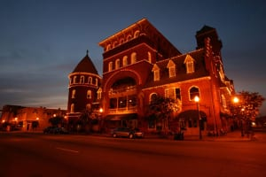 The historic Windsor Hotel, a short drive from Lake Blackshear, is a showplace of Victorian architecture.
