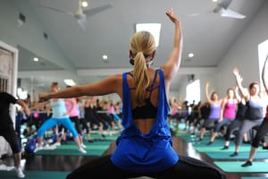 A Define body class— Pilates, yoga, ballet and core combo—at Define Body and Mind