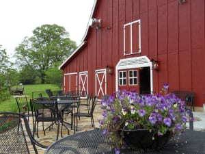 Starting in May, Tiger Mountain's Red Barn Café offers monthly gourmet dinners prepared by visiting chefs and Georgia wine pairings in addition to its regular service.