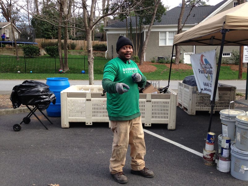 Can't recycle glass items curbside anymore? Bring them to Keep Atlanta Beautiful's monthly recycling drop-off, where they collect hundreds of thousands of pounds of electronics, metals, paper, paint and more each year.