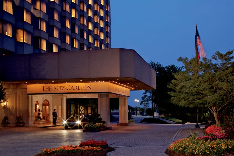 The Ritz-Carlton, Buckhead, has cut an elegant figure on Peachtree Road across from Lenox Square since 1984.