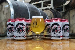 Orpheus Brewing's Tart Plum Saison is an easy to drink sour with fruity undertones.