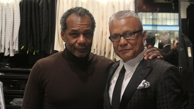 Miguel Wilson and his father Rafael Escoto both have a passion for fashion.