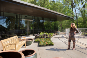 The chic new restaurant space, now boasting a rooftop patio, is just one of the improvements Matheson has introduced during her tenure.