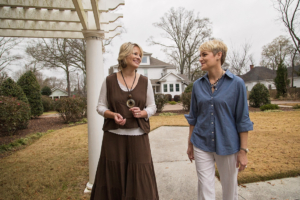 Kimberly Mayfield and Joy Gilliam, co-owners of Sparrow Hill Inn, treat their guests like family. Using their business and design talents, they transformed the four suites of this historical home into a destination.