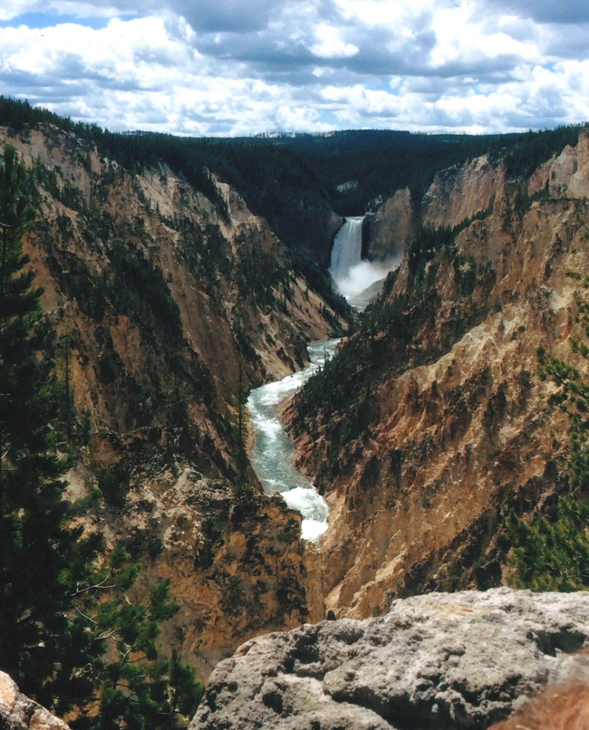 Grant Hawkins' scenic snap from a trip to Yellowstone National Park took home first place in last year's Summer Teen Photography Contest.