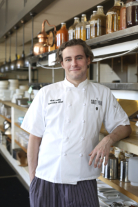 Chef Nick Leahy puts his world travel experiences on the plate.
