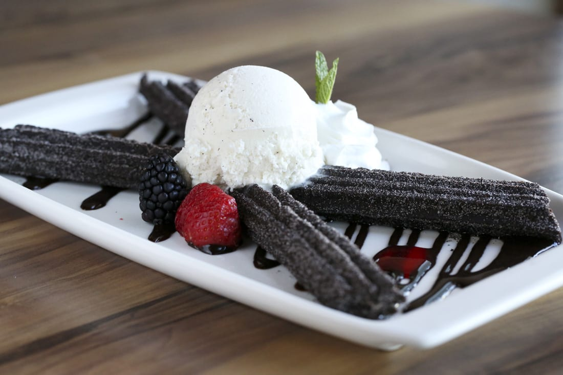 Marshmallow-y, chocolate goodness, the Oreo churros are a specialty of the house.