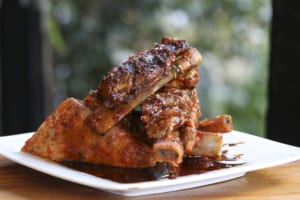 The generous portion of sweet and sour spare ribs from Eclipse di Luna makes it one of the best deals on the menu.