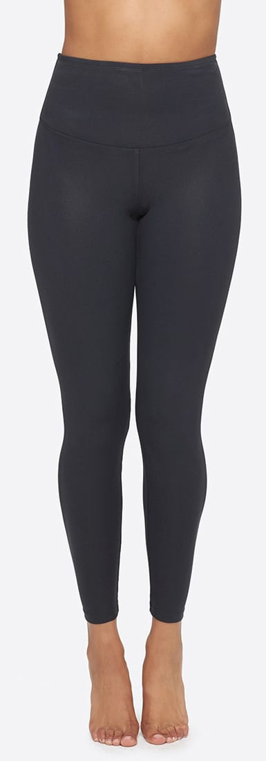 Yummie Coated High Waist Signature Leggings