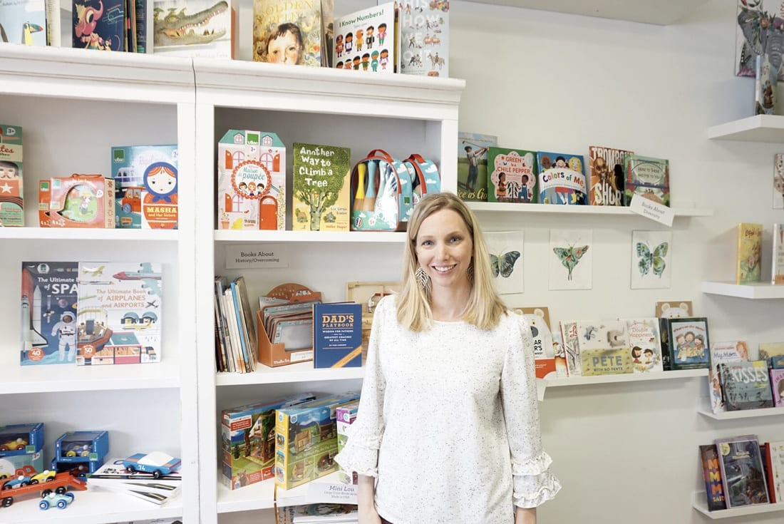 Brooke Henze donates a portion of the sales from her Sandy Springs store, The Swell Shop, to local children's charities.