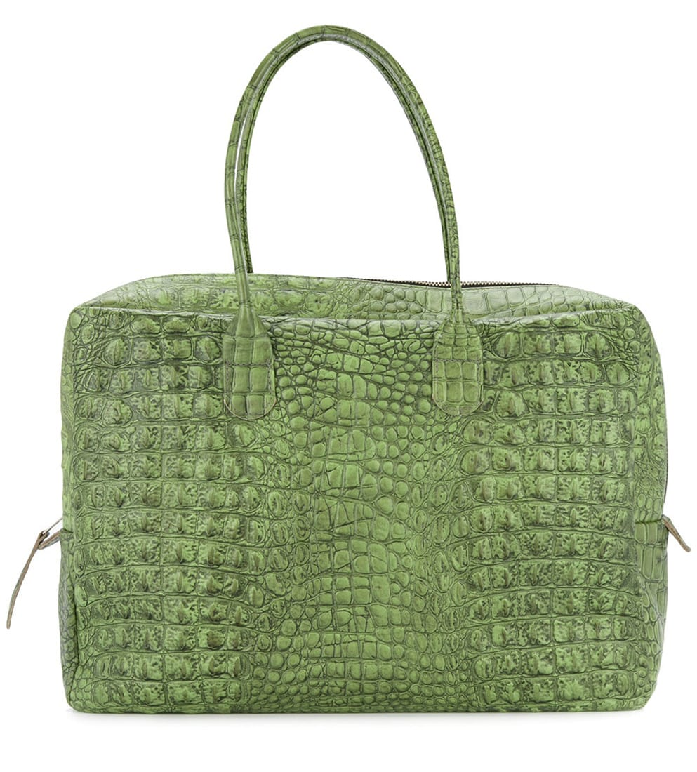 Zambesi Crocodile Effect Briefcase