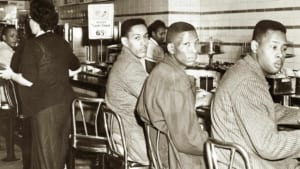 The lunch counter in Greensboro where a student sit-in inspired a movement. - Courtesy UScivilrightstrail