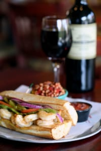 The shrimp po'boy at Newk's Eatery is an alternative to the traditional sandwich of fried shrimp.