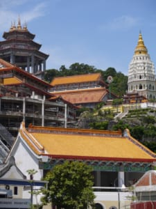 With its ornate architecture, Kek Lok Si temple is a must-see in Penang, Malaysia.