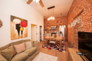 Luxury amenities meet industrial style at the Soho Lofts in downtown Milledgeville.
