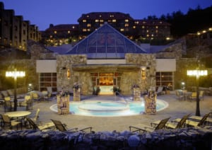 The 20 water features, including an outdoor mineral pool, are just part of the reason a day pass to the Omni Grove Park Inn spa is a must.