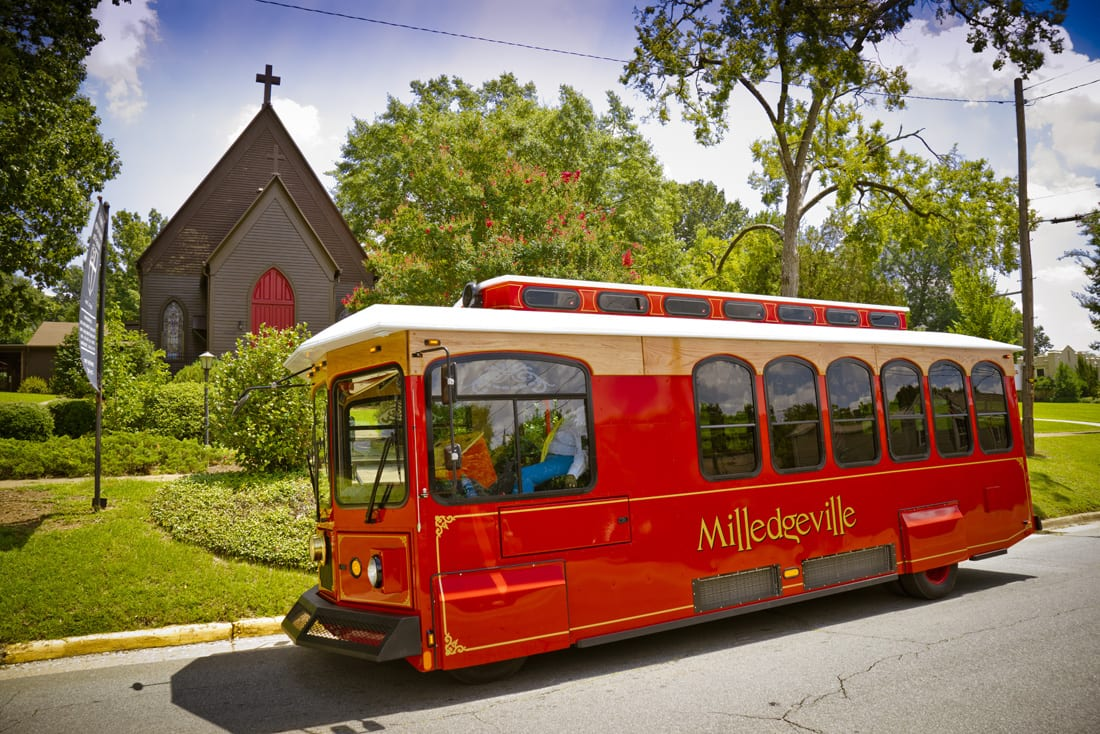 Tour the town with a local guide to learn more about Milledgeville's history on Milly the Trolley.
