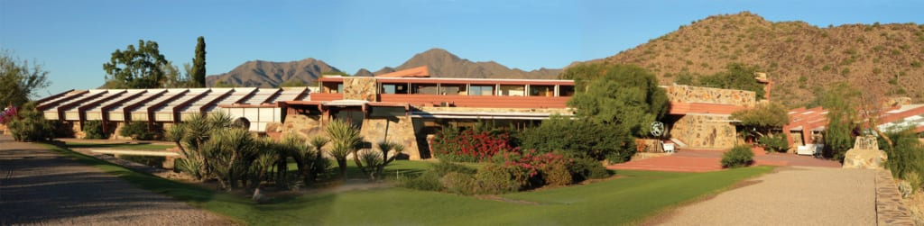 Frank Lloyd Wright's Taliesin West is a must for architecture lovers.