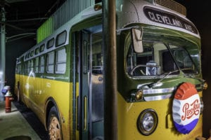 Artifacts and exhibits at the Rosa Park Museum pay tribute to the woman who sparked the Montgomery bus boycott.