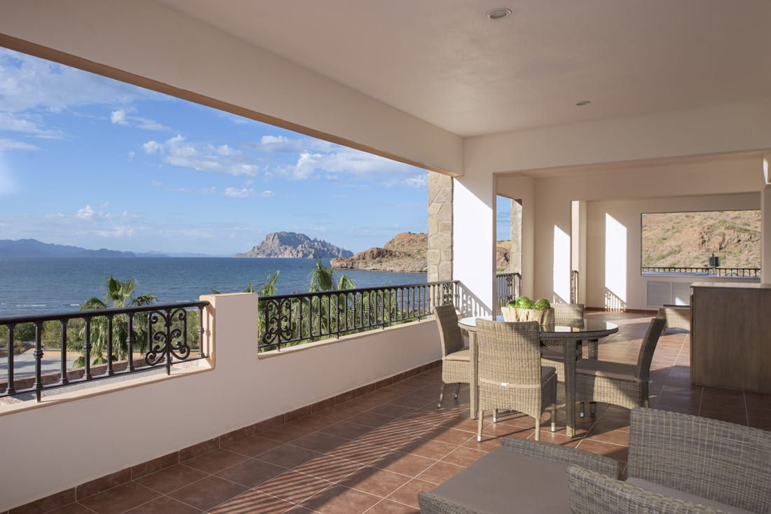At Villa del Palmar, you'll enjoy scenic views of the property and beyond from the privacy of your own balcony.